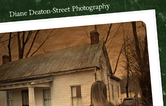 Diane Deaton-Street Photography Web Site Screenshot