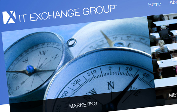 IT Exchange Group Web Site Screenshot