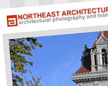 Northeast Architecture Web Site Screenshot
