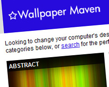 Wallpaper Maven Web Site Screenshot